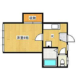 メゾンKIKO[2階]の間取り