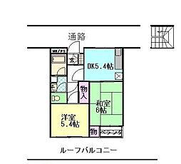 第1せいきれいマンション[1階]の間取り
