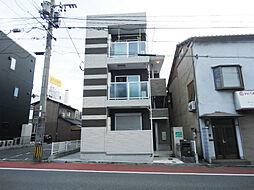 福岡県北九州市戸畑区幸町の賃貸アパートの外観
