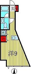 U-FLAT[202号室]の間取り