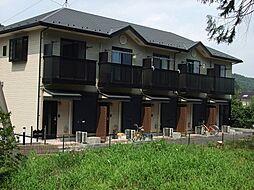 東京都西多摩郡日の出町平井の賃貸アパートの外観