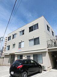 福岡県北九州市小倉北区片野1丁目の賃貸アパートの外観