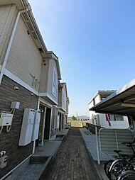 埼玉県川越市大字南田島の賃貸アパートの外観