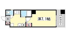 ISOGAMI EAST[5階]の間取り