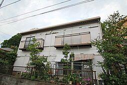 東京都東久留米市前沢3の賃貸アパートの外観