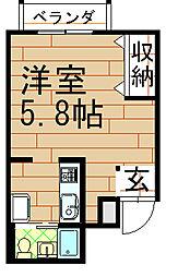 ル・モンド元町[2階]の間取り