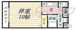 ピアホーム奥田[3階]の間取り