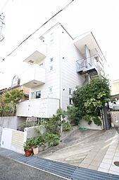 兵庫県神戸市灘区赤坂通8丁目の賃貸アパートの外観