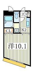 MKパル[2階]の間取り