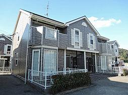 福岡県北九州市若松区大字畠田の賃貸アパートの外観