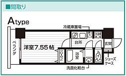 Nasic仙台東口[909号室号室]の間取り