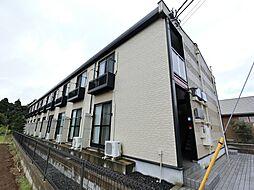 千葉県成田市飯仲の賃貸アパートの外観
