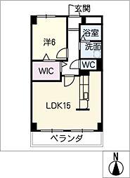 第5豊栄マンション[2階]の間取り