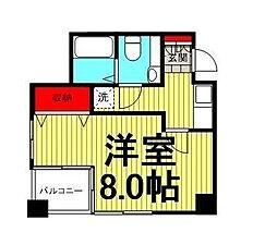 NOZY machiya[6階]の間取り