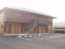 群馬県前橋市下新田町の賃貸アパートの外観