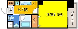 兵庫県神戸市中央区元町通5丁目の賃貸マンションの間取り