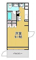 アーデンタワー南堀江[8階]の間取り