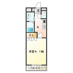 SK STAGE[1階]の間取り