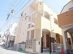 東京都足立区中央本町2丁目の賃貸アパートの外観