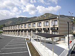 広島県尾道市沖側町の賃貸アパートの外観