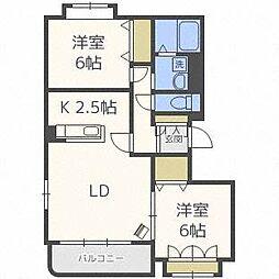 ノーヴァ32 A[3階]の間取り