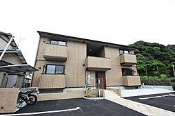 福岡県中間市蓮花寺2の賃貸アパートの外観