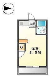 FORUM北[3階]の間取り