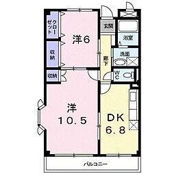 マイハウス[2階]の間取り
