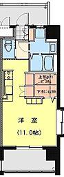 California APT ~カリフォルニア アパートメント~ 6階ワンルームの間取り