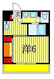 千葉県船橋市海神5丁目の賃貸マンションの間取り