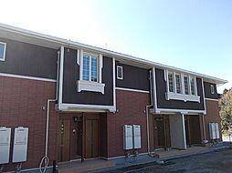 鹿児島県日置市伊集院町清藤の賃貸アパートの外観