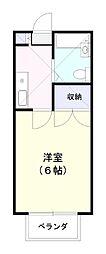 カーサ志津[104号室]の間取り