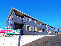埼玉県朝霞市幸町2丁目の賃貸アパートの外観