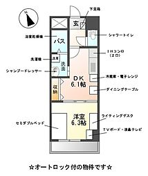 M-stage Aoi[3階]の間取り