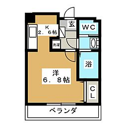 HF仙台レジデンスEAST[10階]の間取り