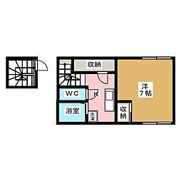 レオネクスト妙見南[2階]の間取り