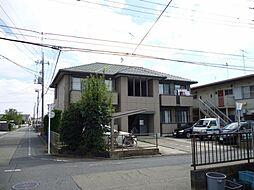 東京都羽村市富士見平2丁目の賃貸アパートの外観