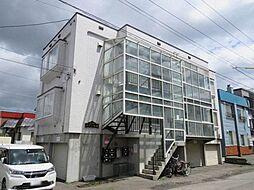 北海道札幌市白石区栄通6丁目の賃貸アパートの外観
