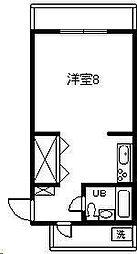 第2谷口コーポ(大字恒久)[101号室]の間取り