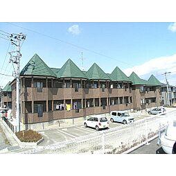 福島県郡山市富久山町八山田の賃貸アパートの外観