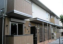 東京都国立市西1丁目の賃貸アパートの外観