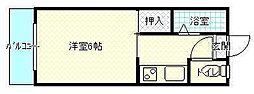 宮崎県宮崎市花ケ島町の賃貸アパートの間取り