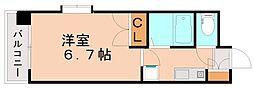 福岡県大野城市白木原1丁目の賃貸マンションの間取り