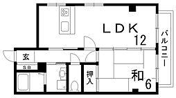 オーキッドマヤ[2階]の間取り