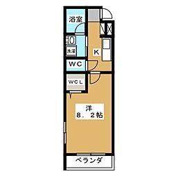 EASE京都室町[5階]の間取り