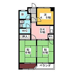 藤和レジデンス[2階]の間取り