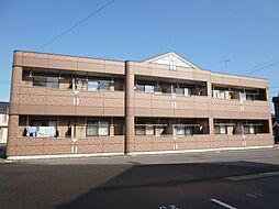 岡山県倉敷市中畝9丁目の賃貸アパートの外観