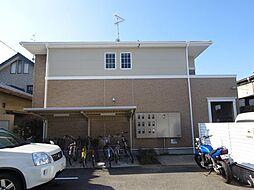 大阪府富田林市須賀2丁目の賃貸アパートの外観