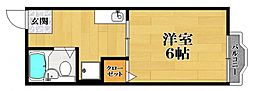 シティハイム ヒロ[2階]の間取り