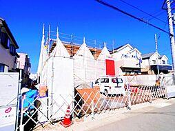 埼玉県三郷市中央2丁目の賃貸アパートの外観